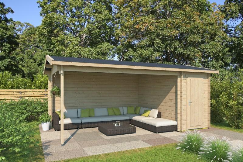 Gartenhaus Modell Kilian 28 C