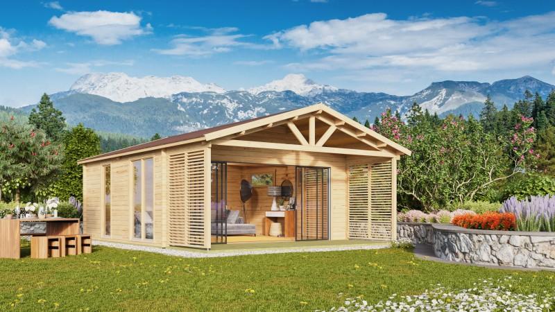 Gartenhaus Alu Concept Arosa 44 C