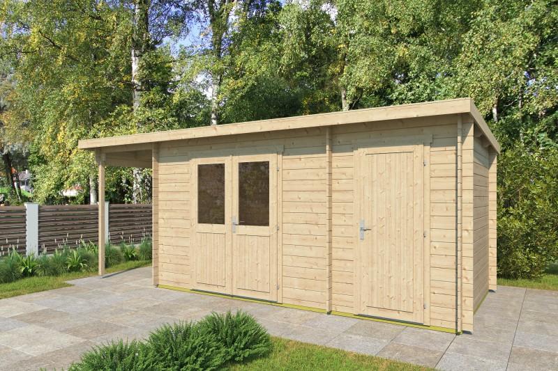 Gartenhaus Modell Gent 28 F