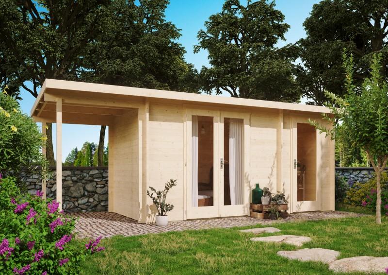 Gartenhaus Modell Carin 40 A +SD