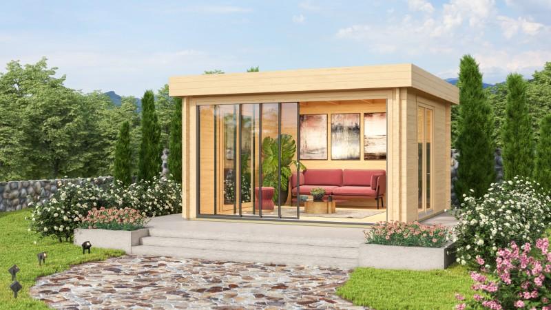 Gartenhaus Modell Alu Concept Lounge 44 A