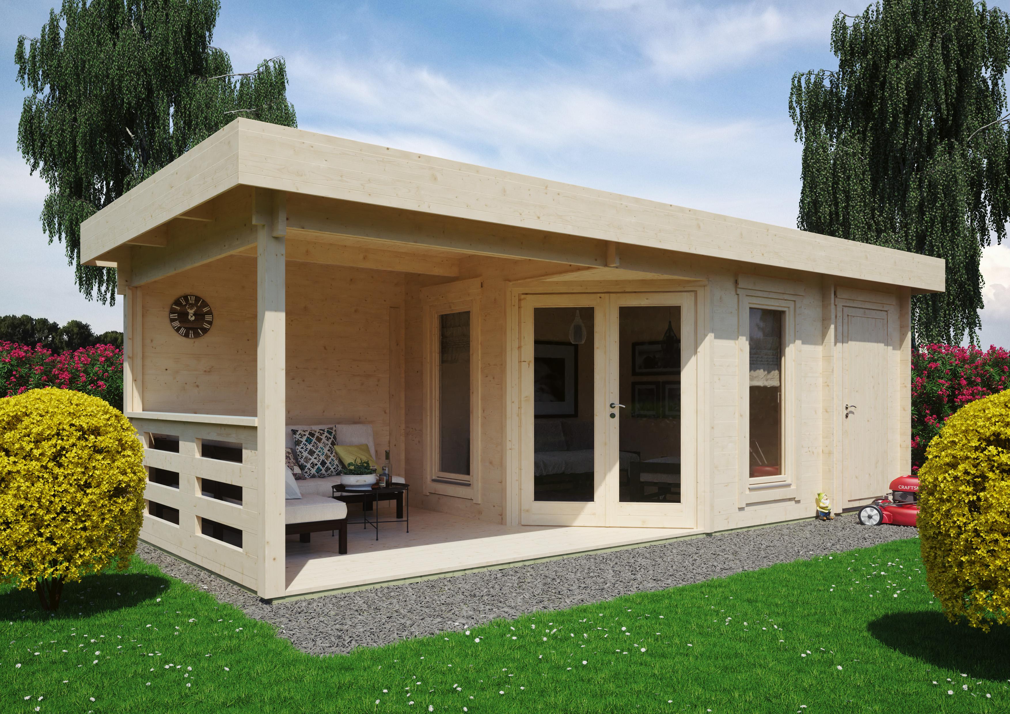 Gartenhaus Modell Nora 20 E Modern