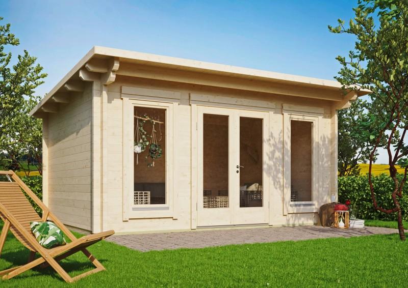 Pultdach Gartenhaus Modell Jacob 70 E
