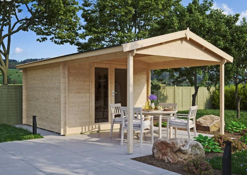 Gartenhaus Modell Luise 40 C