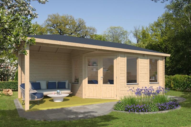 5 Eck Gartenhaus Modell Lisa 44 F Klassic