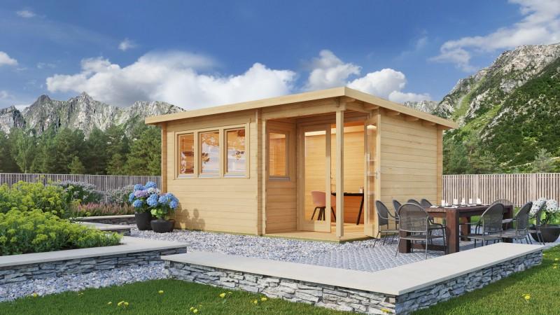 Gartenhaus Modell Home Office Sam 70