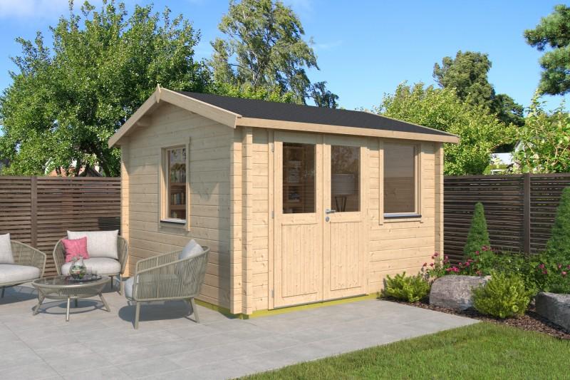 Satteldach Gartenhaus Modell Narvic 44 C