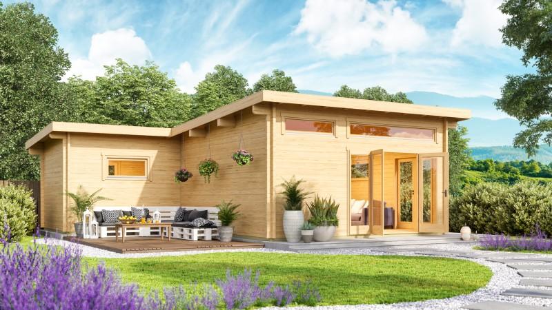 Pultdach Gartenhaus Modell Harbord 70