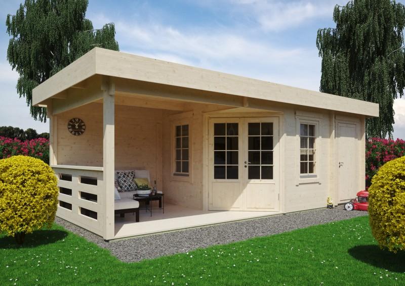 Gartenhaus Modell Nora 44 E Klassik