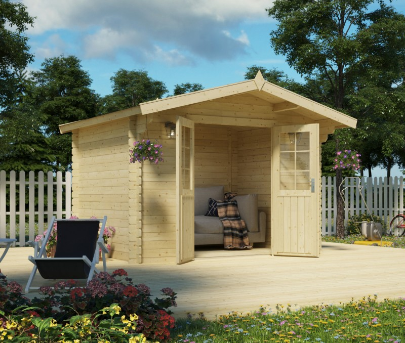 Gartenhaus Modell Kenly 28