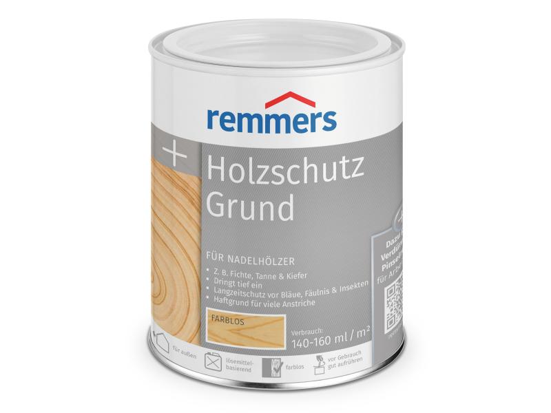 Holzschutz Grund - 2,5 Liter Imprägnierung Set 3