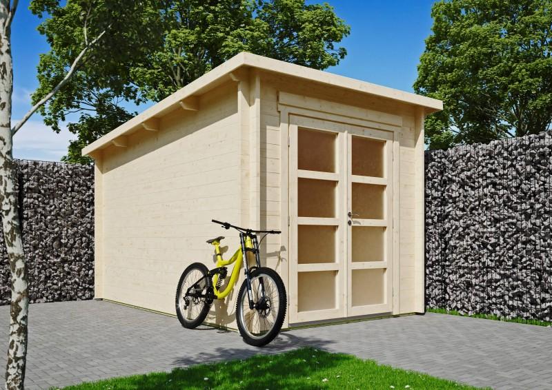 Pultdach Gartenhaus Modell Max 44 C