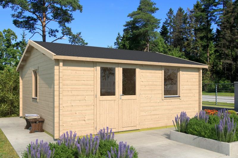 Gartenhaus Modell Narvic 70 G