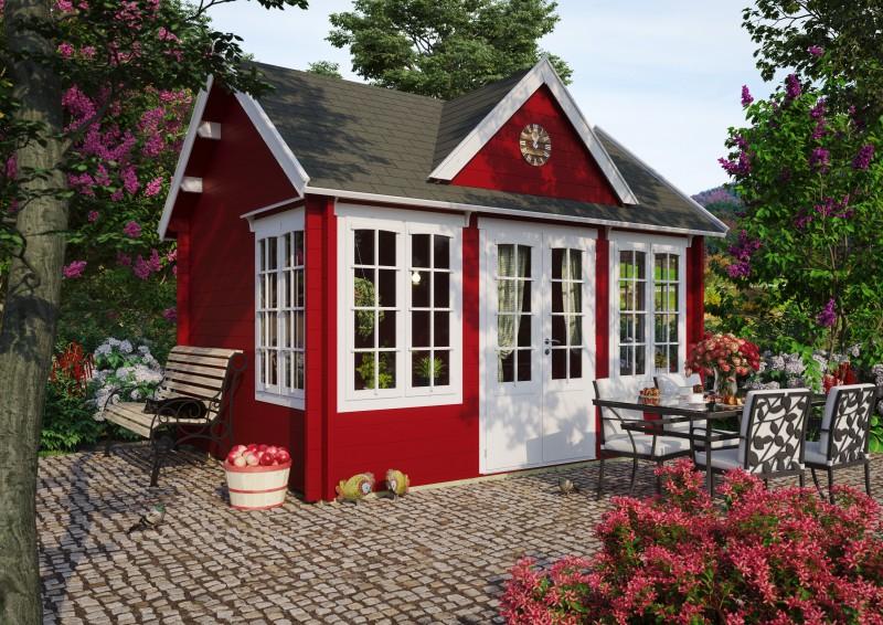 Gartenhaus Modell Clockhouse Windsor 70