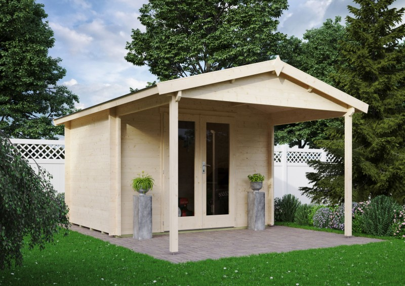 Gartenhaus Modell Luise 40 A