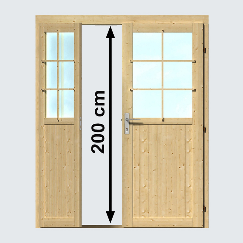 Extra hohe Türen