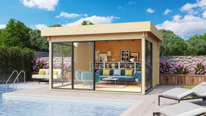 Gartenhaus Modell Alu Concept 70 H