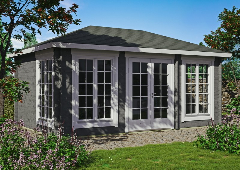 Gartenhaus Modell Porto 44 B