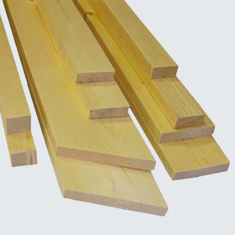 Abschlussprofile aus Massivholz