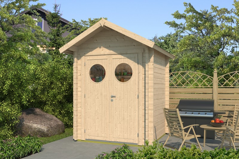 Gartenhaus Modell Lexi 44 A Premium