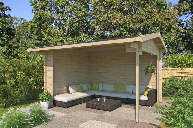 Gartenhaus Modell Kilian 28 A