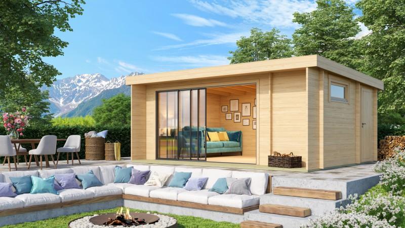 Gartenhaus Modell Alu Concept 44 B