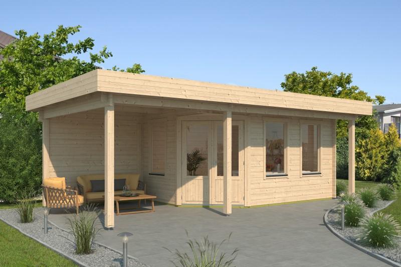 Gartenhaus Modell Nora 44 I Klassik