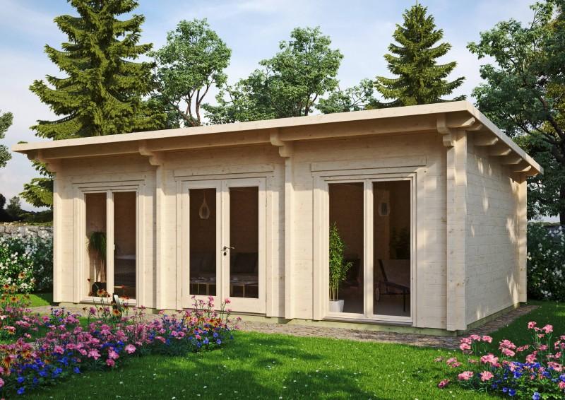 Pultdach Gartenhaus Modell Jacob 90 H