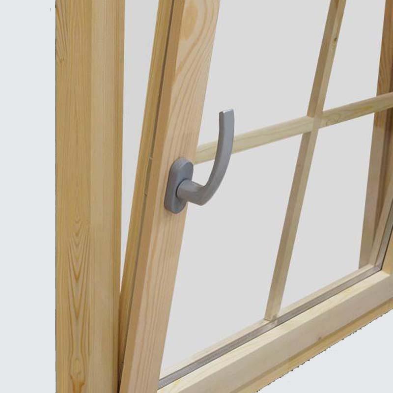 Fenster mit Einhand-Dreh/Kipp-Beschlag