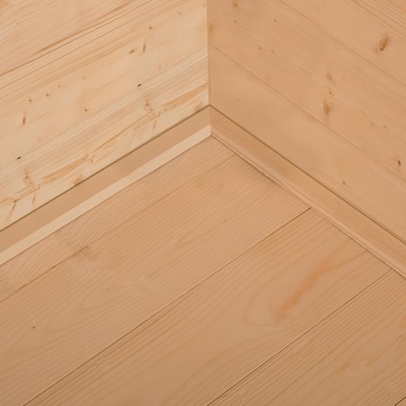 28 mm Fußbodenbretter aus Massivholz