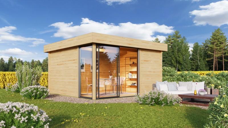 Gartenhaus Modell Alu Concept 70 P