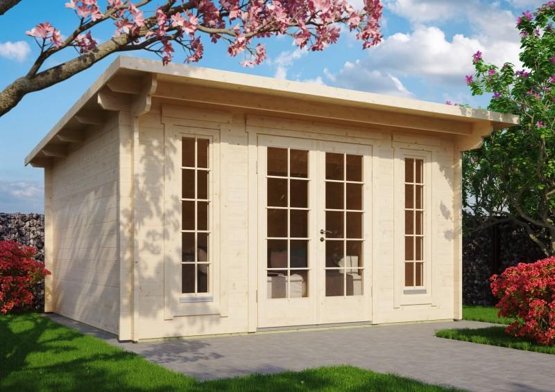 Pultdach Gartenhaus Modell Jacob 44 C