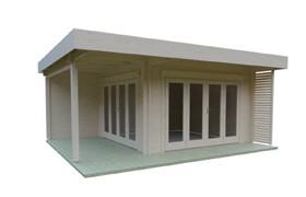 Lounge Gartenhäuser