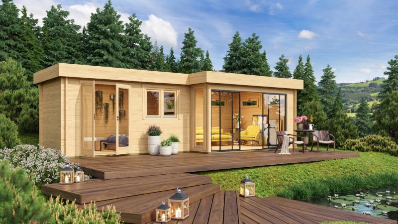 Gartenhaus Modell Alu Concept 70 K