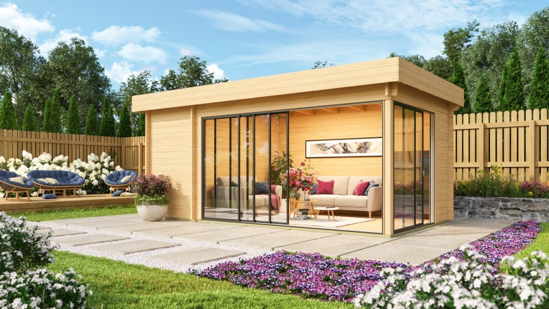 Gartenhaus Alu Concept 70 C