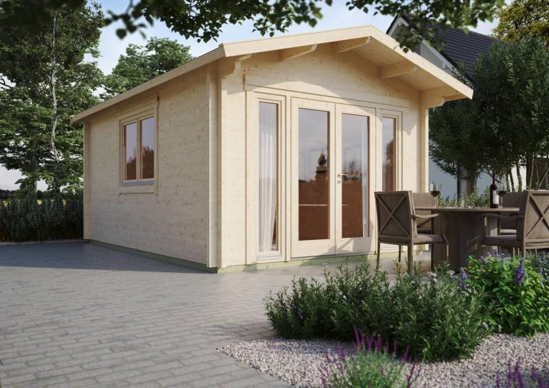 Gartenhaus Modell Kim 70 D