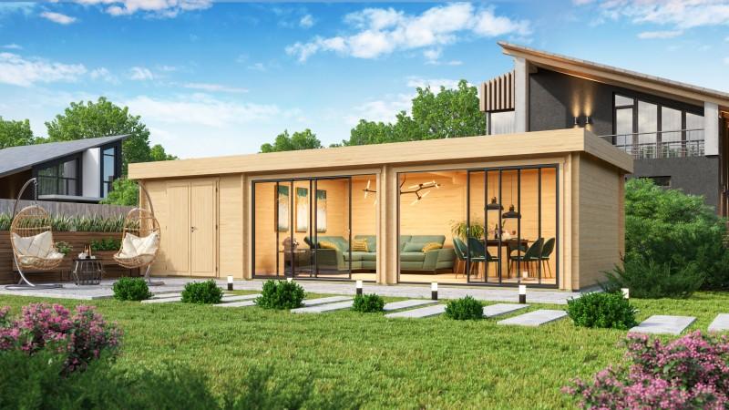 Gartenhaus Modell Alu Concept 70 L