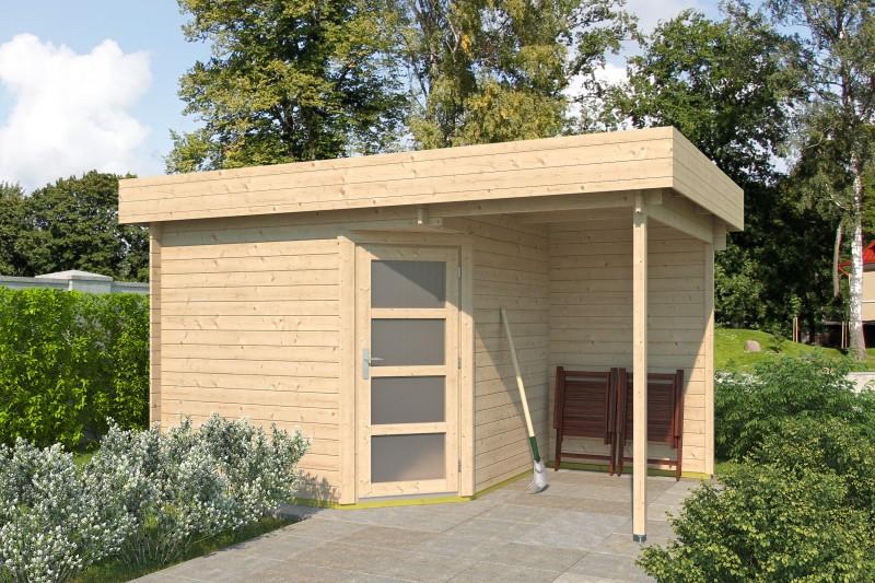 5 Eck Gartenhaus Modell Mona 28 D