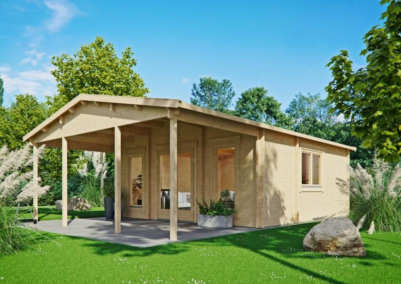 Gartenhaus Modell Julia 44 F