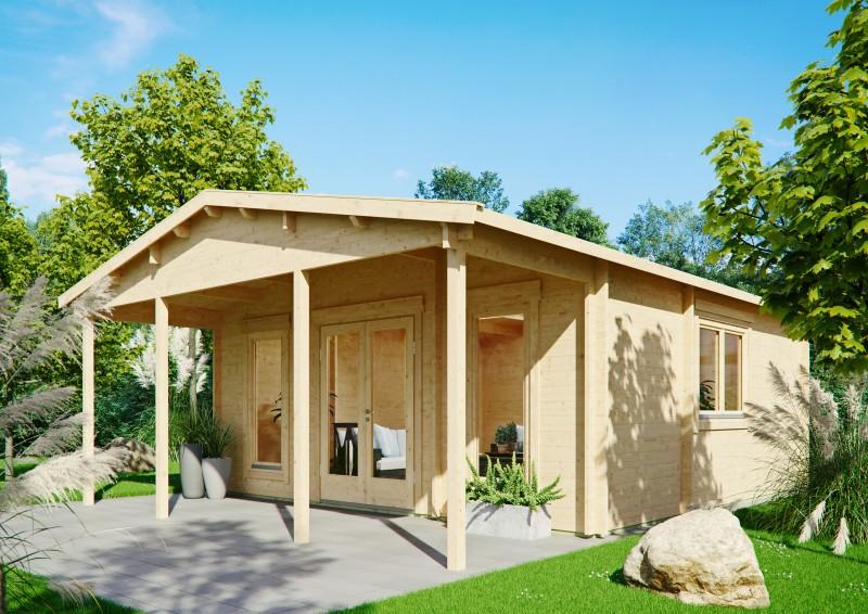 Gartenhaus Modell Julia 70 E