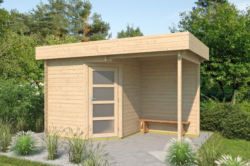 5 Eck Gartenhaus Modell Mona 28 C