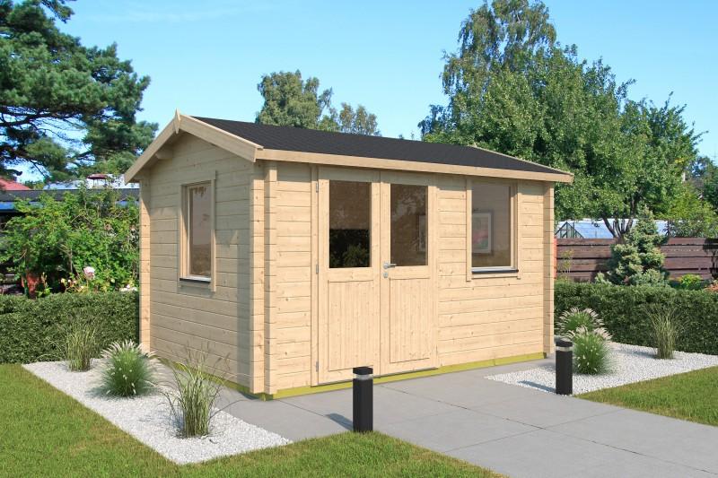 Satteldach Gartenhaus Modell Narvic 44 B