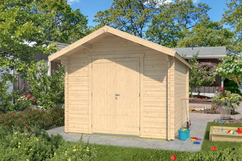 Gartenhaus Modell Lexi 44 D Premium