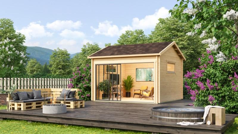 Gartenhaus Alu Concept Jara 44 A