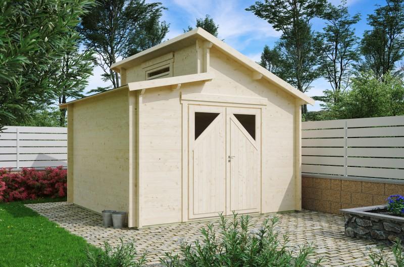 Gartenhaus Modell Varianta 44 D