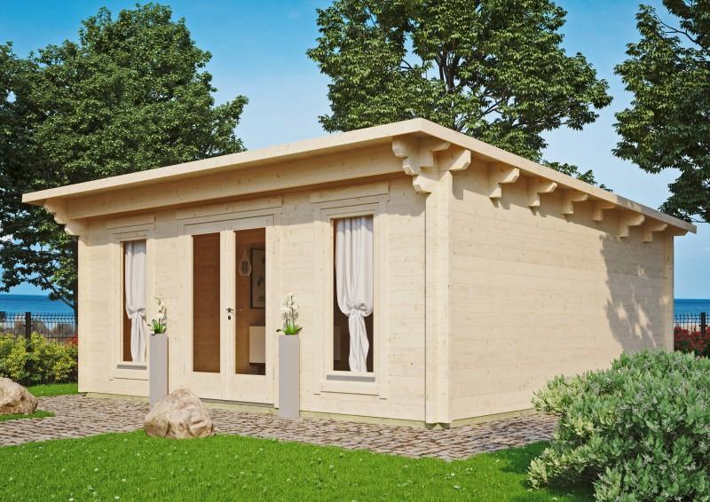 Pultdach Gartenhaus Modell Jacob 70 G