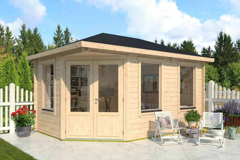 Gartenhaus Modell Lisa 44 B Klassik