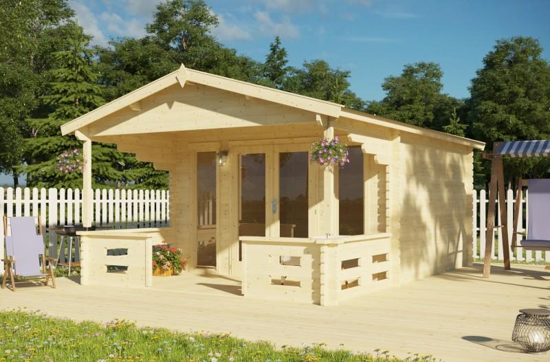 Gartenhaus Modell Kolding 40