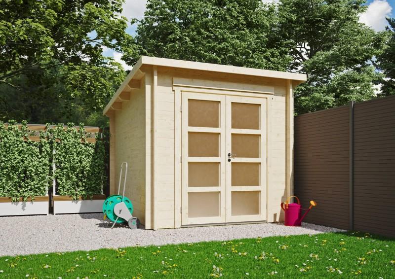 Pultdach Gartenhaus Modell Max 44 B