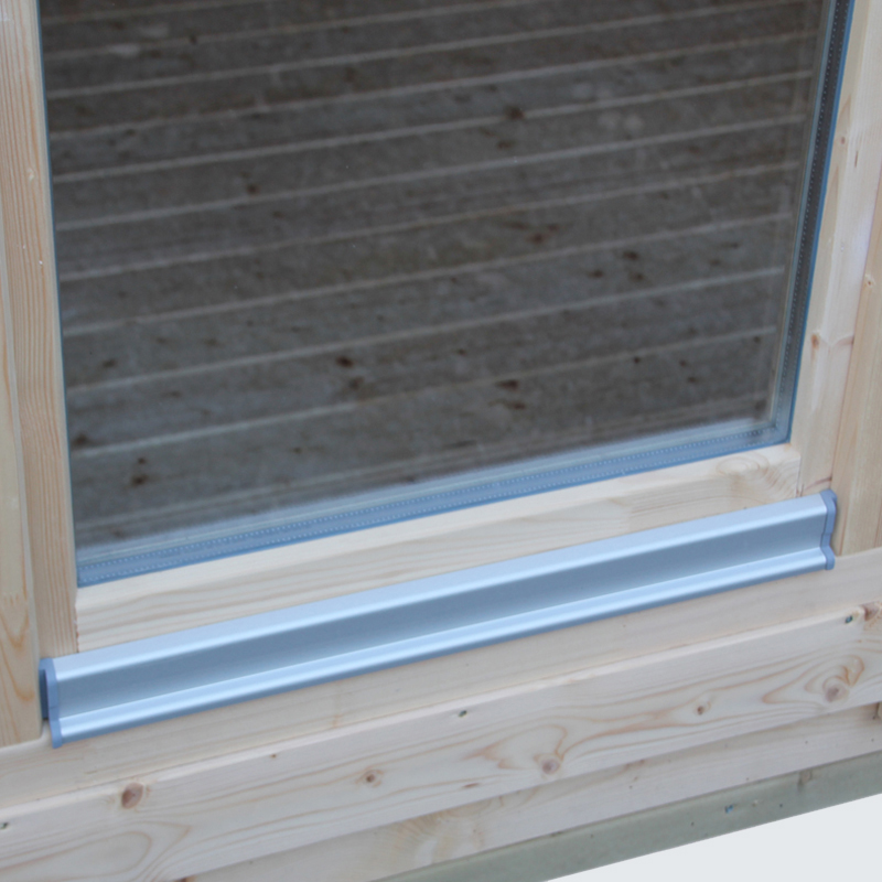 Fenster mit Aluminium-Wasserschenkel